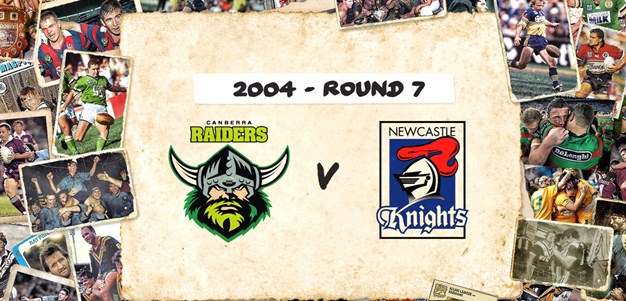 Raiders v Knights - Round 7, 2004