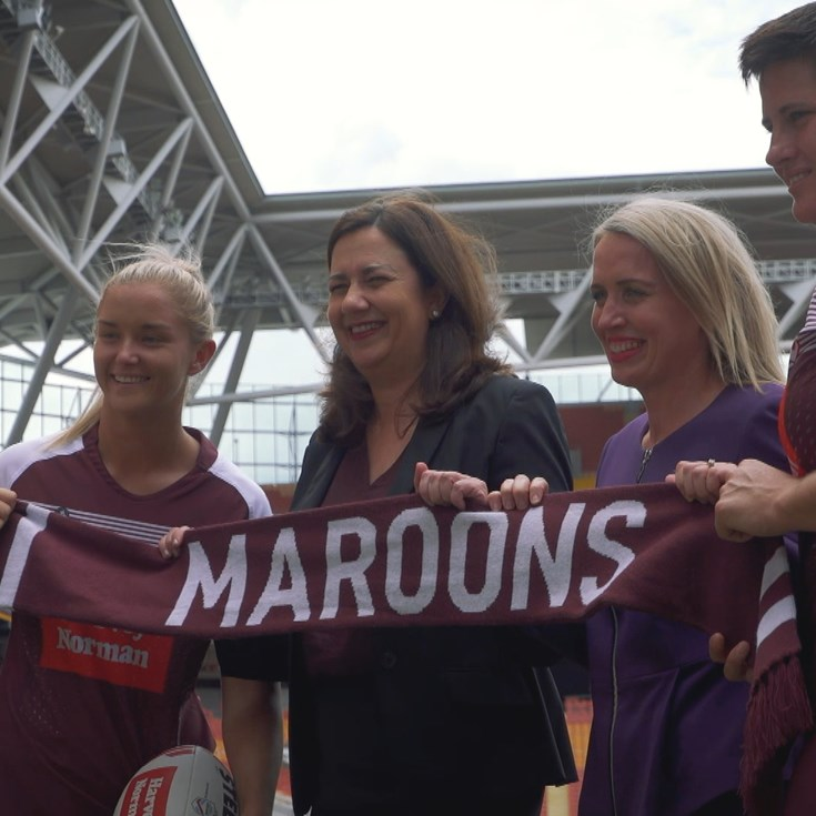 Maroons now united under one banner