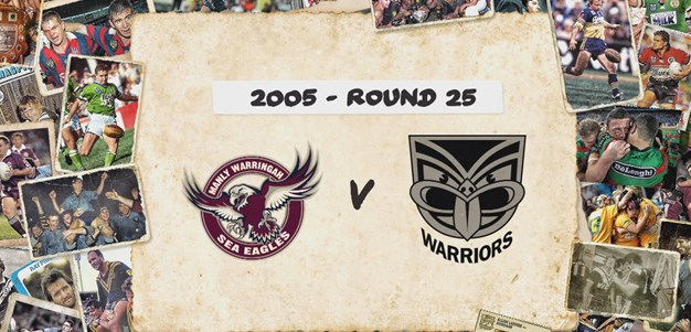 Sea Eagles v Warriors - Round 25, 2005