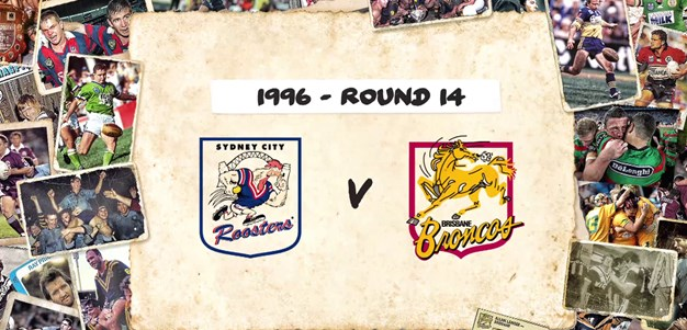 Roosters v Broncos - Round 14, 1996