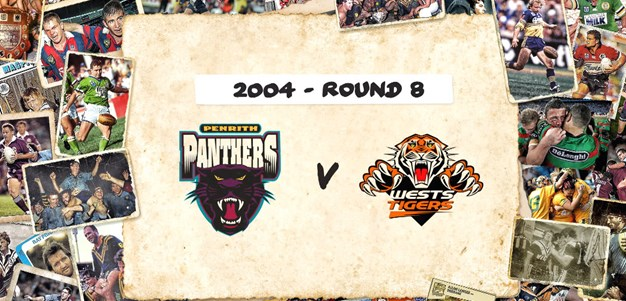 Panthers v Tigers - Round 8, 2004