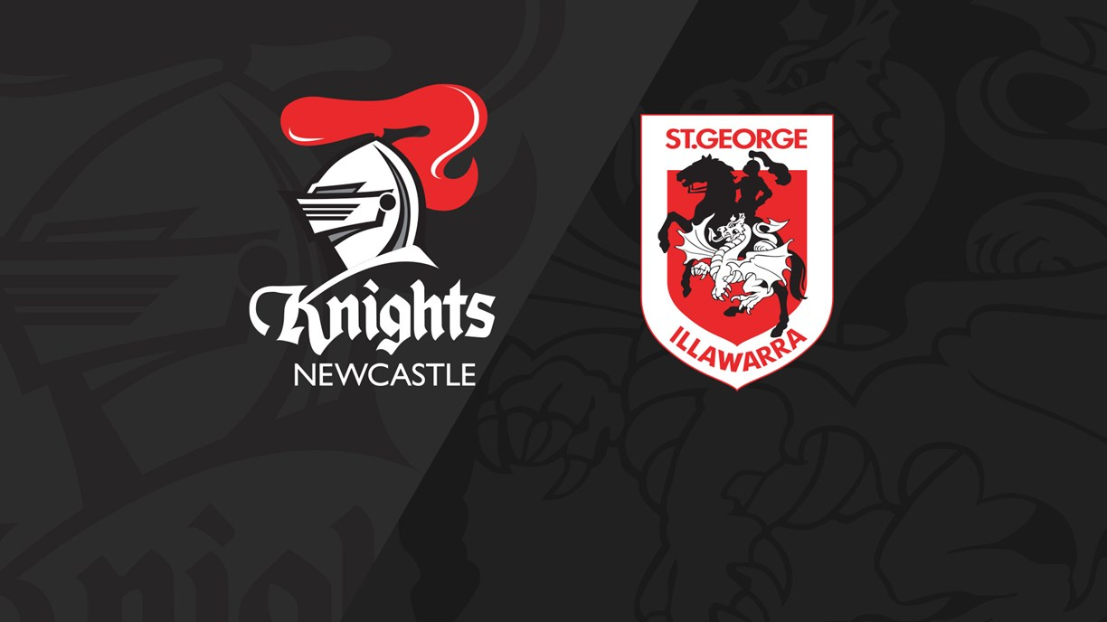 Full Match Replay: Knights v Dragons - Round 4, 2019