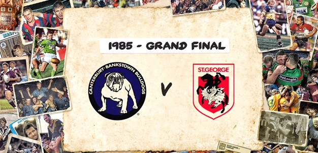 Bulldogs v Dragons - Grand Final, 1985