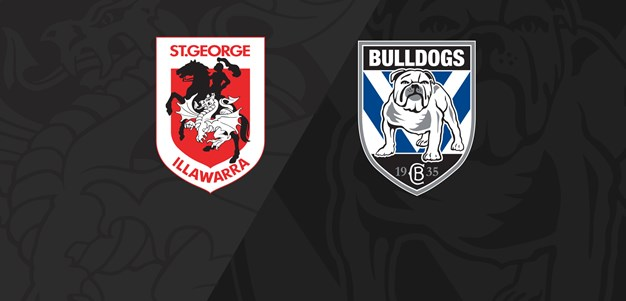 Full Match Replay: Dragons v Bulldogs - Round 5, 2019