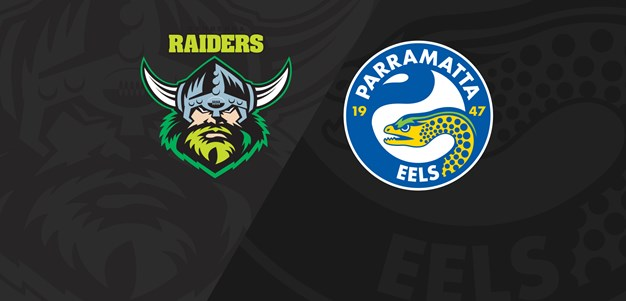 Full Match Replay: Raiders v Eels - Round 5, 2019