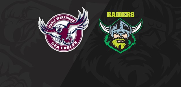 Full Match Replay: Sea Eagles v Raiders - Round 7, 2019