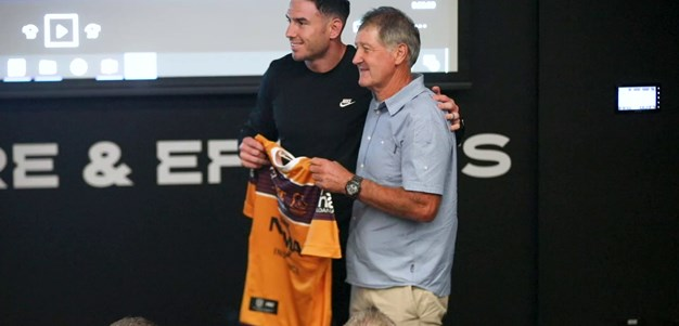 Emotional Boyd presented with 300th jersey