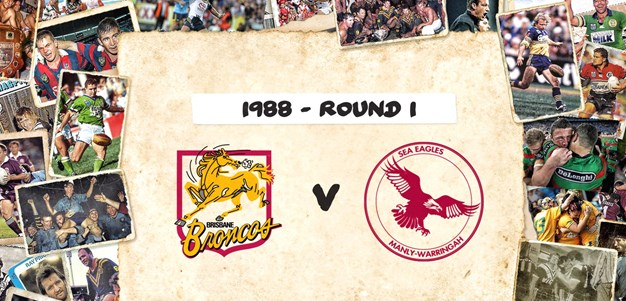 Broncos v Sea Eagles- Round 1, 1988