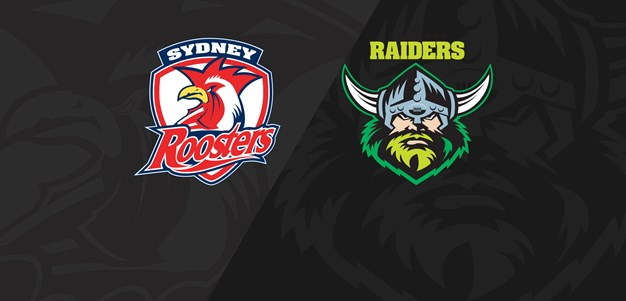 Full Match Replay: Roosters v Raiders - Round 9, 2019