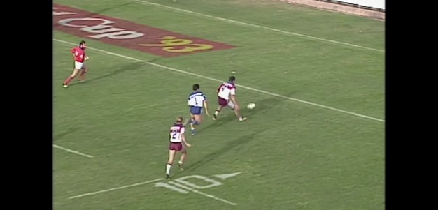 Danny Moore starts and finishes it for Manly