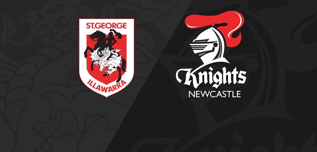 Full Match Replay: Dragons v Knights - Round 10, 2019