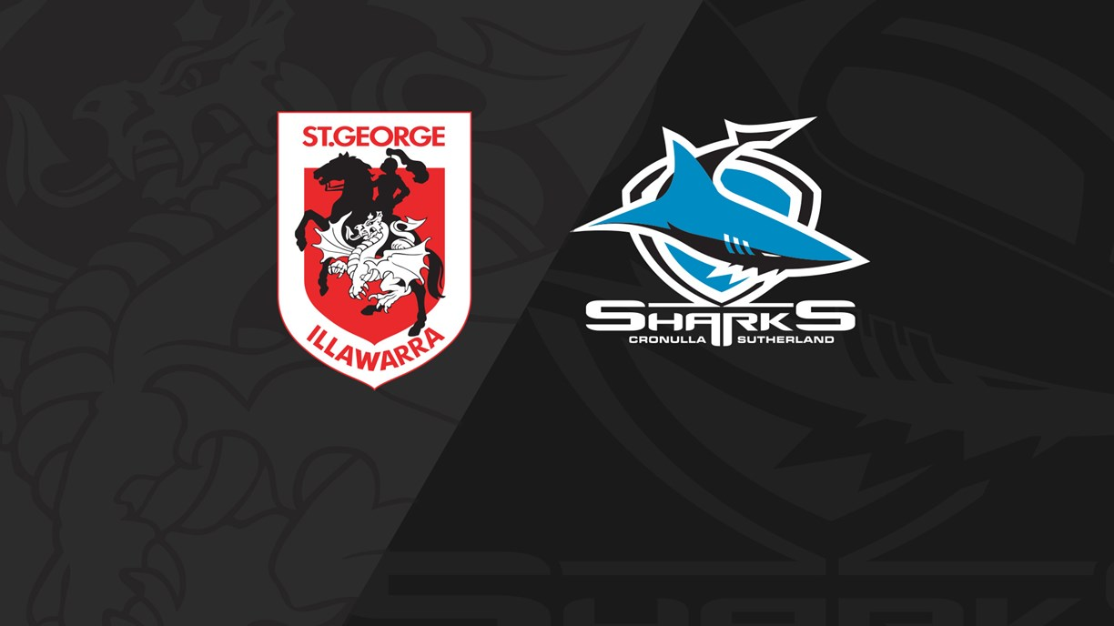 Full Match Replay: Dragons v Sharks - Round 11, 2019