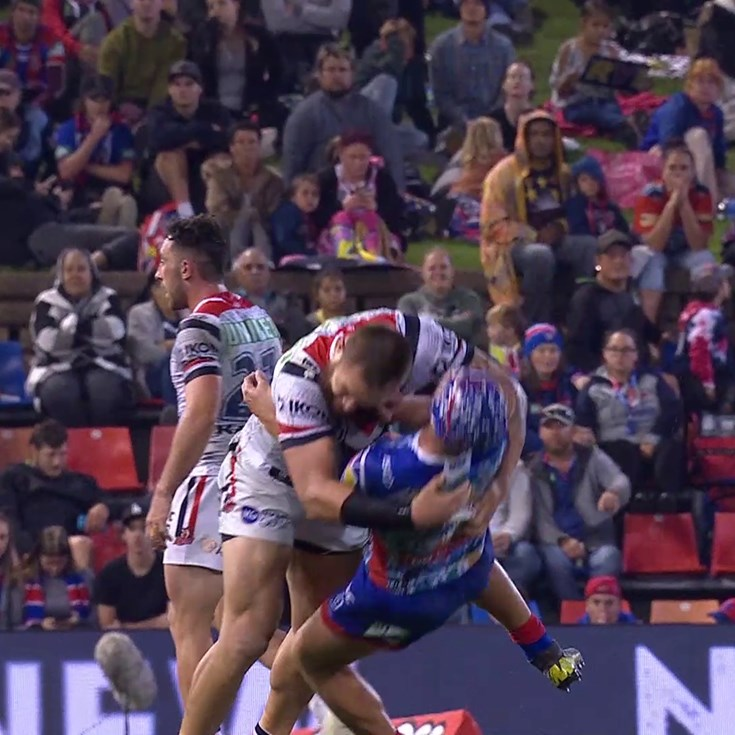 Waerea-Hargreaves charged for tackle on Ponga
