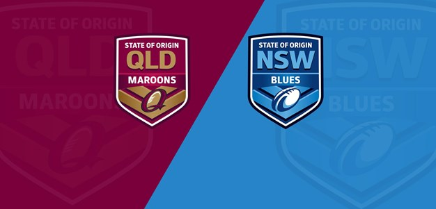 Full Match Replay: Maroons v Blues - Game 1, 2017
