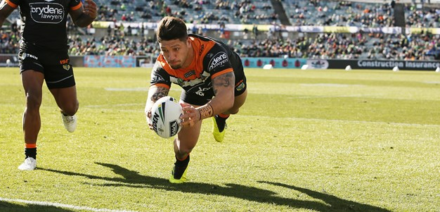 Last Time They Met: Raiders v Wests Tigers - Round 22, 2018