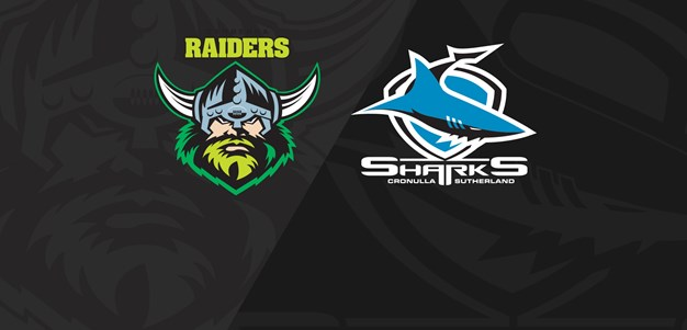Full Match Replay: Raiders v Sharks - Round 14, 2019