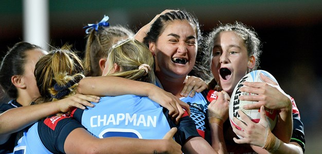 Match Highlights: U18 Women's Origin - NSW v QLD