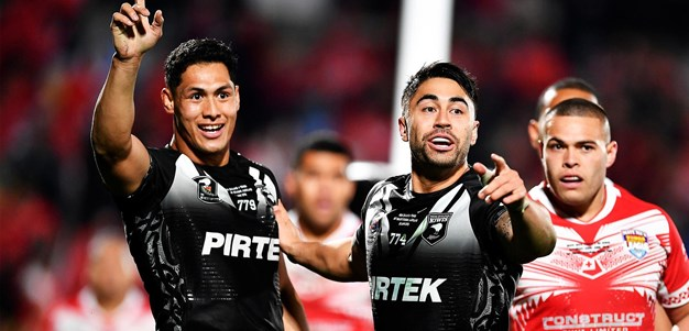 Tuivasa-Sheck awarded try after review