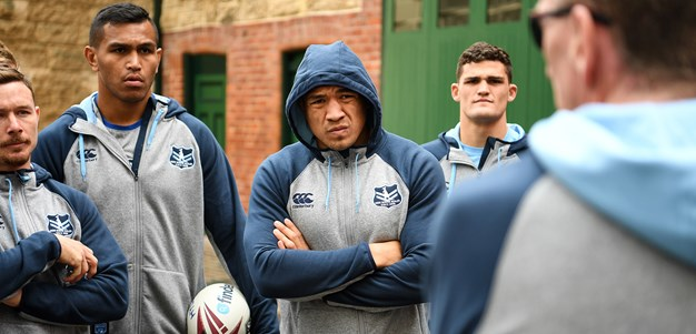 Blues adapt game plan with wet conditions expected
