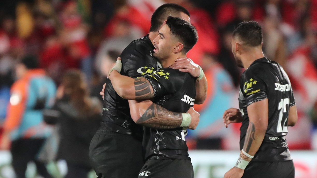 Extended Highlights: NZ Kiwis v Mate Ma'a Tonga