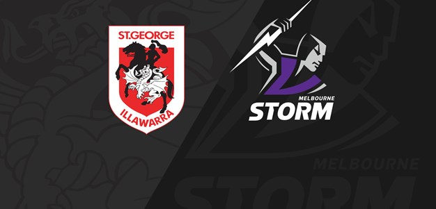 Full Match Replay: Dragons v Storm - Round 16, 2019