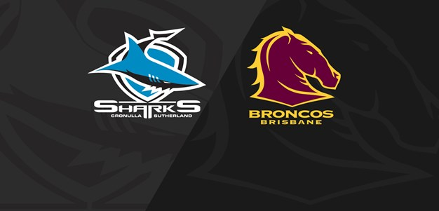Full Match Replay: Sharks v Broncos - Round 16, 2019