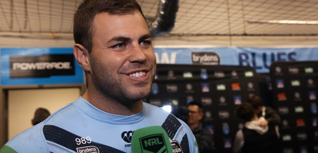 Injured Graham still smiling after Origin series win