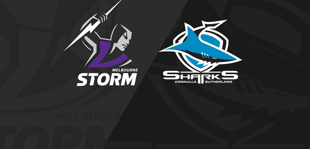 Full Match Replay: Storm v Sharks - Round 17, 2019