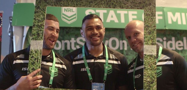 NRL State of Mind: NRL stars pledge their support at Origin III