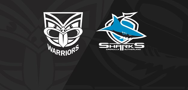 Full Match Replay: Warriors v Sharks - Round 18, 2019