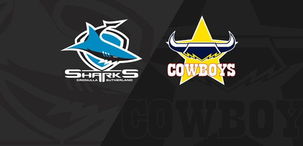 Full Match Replay: Sharks v Cowboys - Round 19, 2019