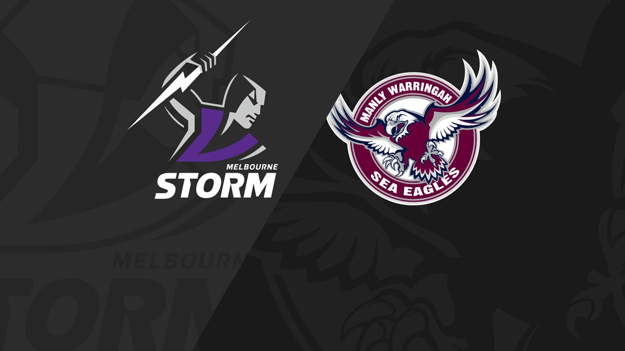 Full Match Replay: Storm v Sea Eagles - Round 19, 2019