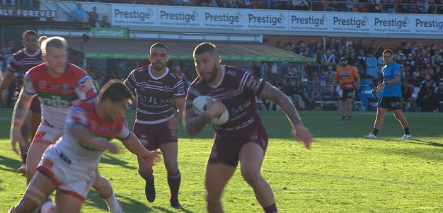 Thompson try gives Sea Eagles breathing room