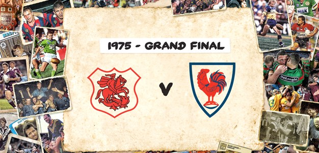Retro Round: Dragons v Roosters - Grand Final, 1975