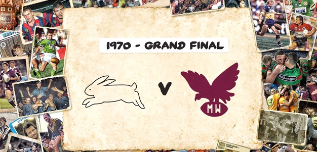 Retro Round: Rabbitohs v Sea Eagles - Grand Final, 1970