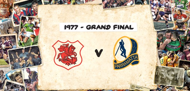 Retro Round: Dragons v Eels - Grand Final, 1977