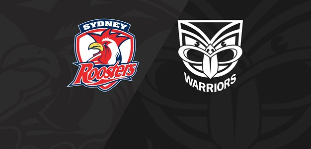 Full Match Replay: Roosters v Warriors - Round 22, 2019