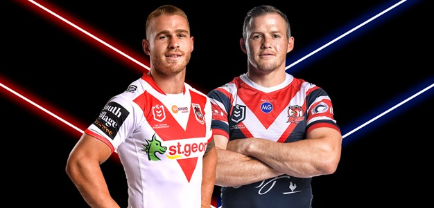 Dragons v Roosters - Round 23