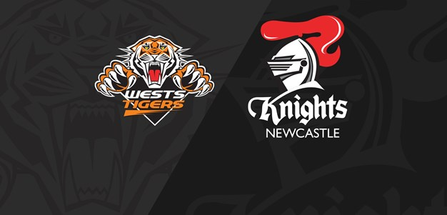 Full Match Replay: Wests Tigers v Knights - Round 23, 2019
