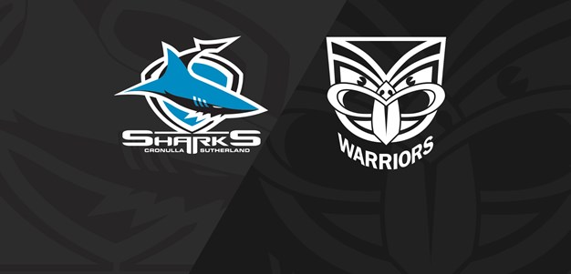 Full Match Replay: Sharks v Warriors - Round 23, 2019