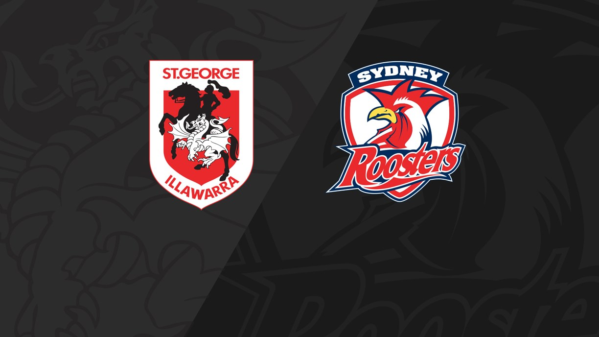 Full Match Replay: Dragons v Roosters - Round 23, 2019