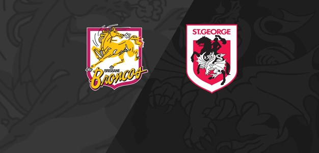 Full Match Replay: Broncos v Dragons - Grand Final, 1992