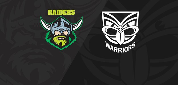 Full Match Replay: Raiders v Warriors - Round 25, 2019