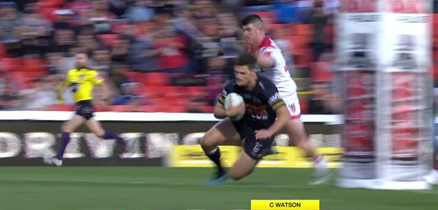 Make that four tries for Cleary