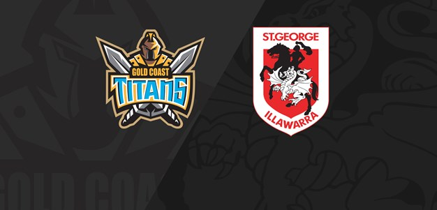 Full Match Replay: Titans v Dragons - Round 25, 2019