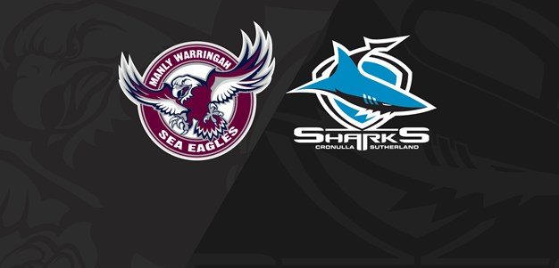 Full Match Replay: Sea Eagles v Sharks - Finals Week 1, 2019