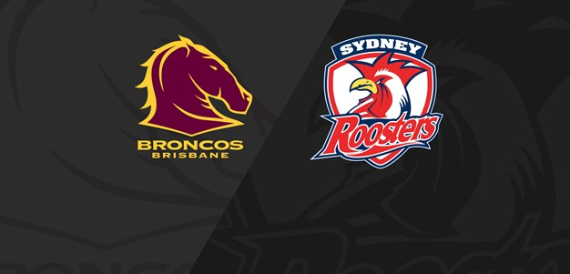 Full Match Replay: NRLW Broncos v Roosters - Round 2, 2019