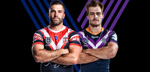 Roosters v Storm - Preliminary Final