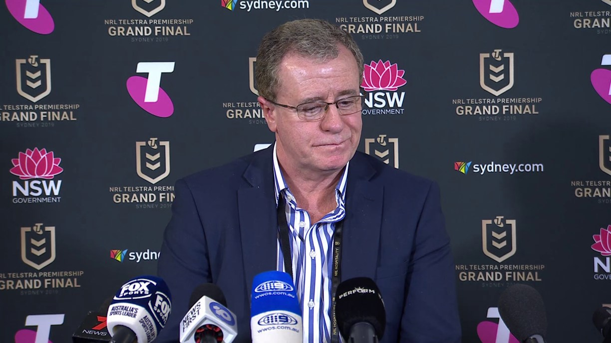 Graham Annesley post-match press conference