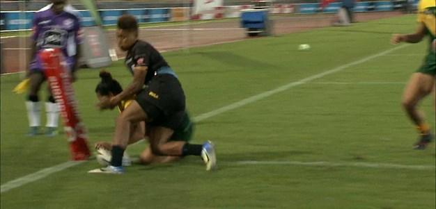 Australia PM's XIII hit the front for the first time